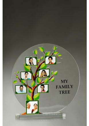 Personalized My Family Tree Plaque