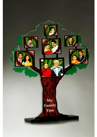 Buy Family Tree Plaque Online at Gitajali Awards