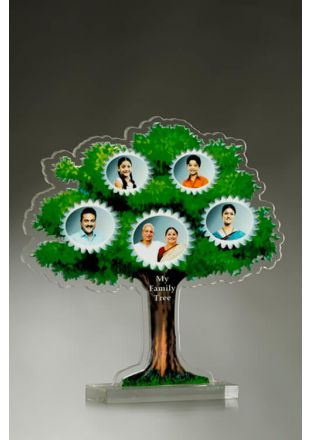 Custom Designed Family Tree Plaque