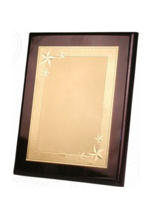 Golden Engraved Achievements Plaques