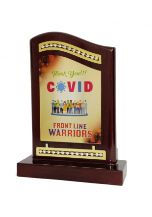 Covid Front Line Warriors Award
