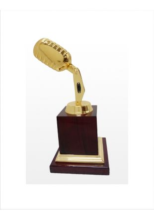 Music Trophy Personalized Band Awards