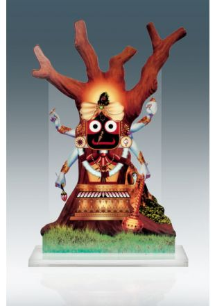 Nabakalebara 2015 Award - Lord Jagannath in his Vishnu Avatar on Neem Tree