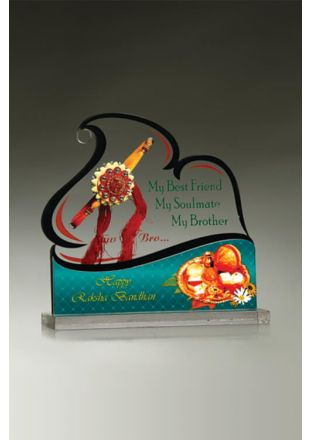 Gift Your Brother an Artistic Plaque This Rakhi