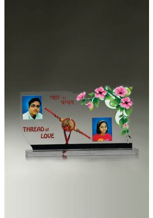 Personalized Rakhi Themed Plaque
