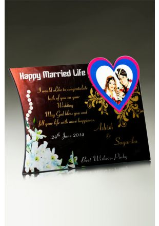 Buy Personalised Wedding Plaque